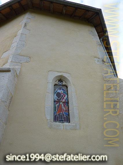 vitrail de marson sur barboure vue extérieure 2