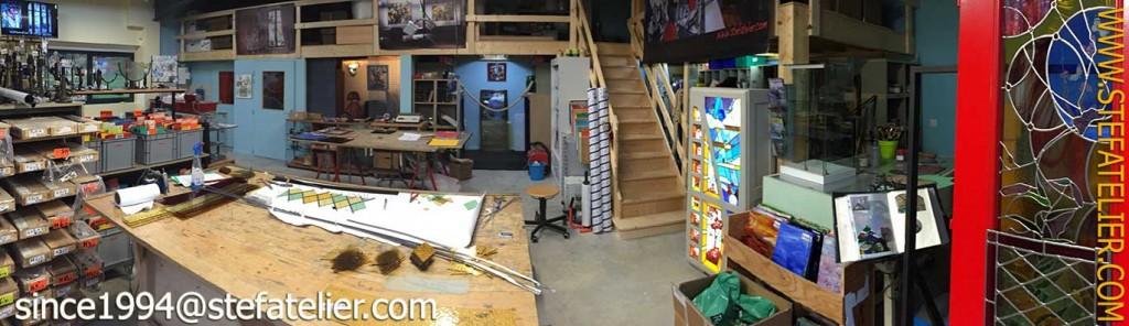Stef Atelier création restauration de vitrail le nouvel atelier