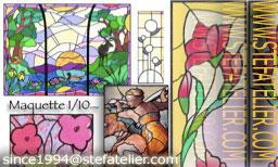 maquettes de vitraux