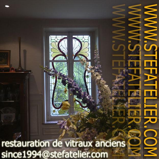 Restauration de vitraux à nancy 54000 en France