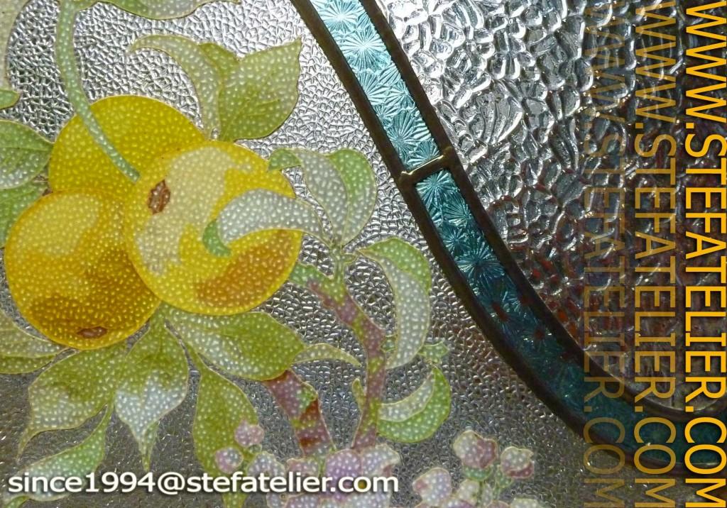 restauration de vitrail