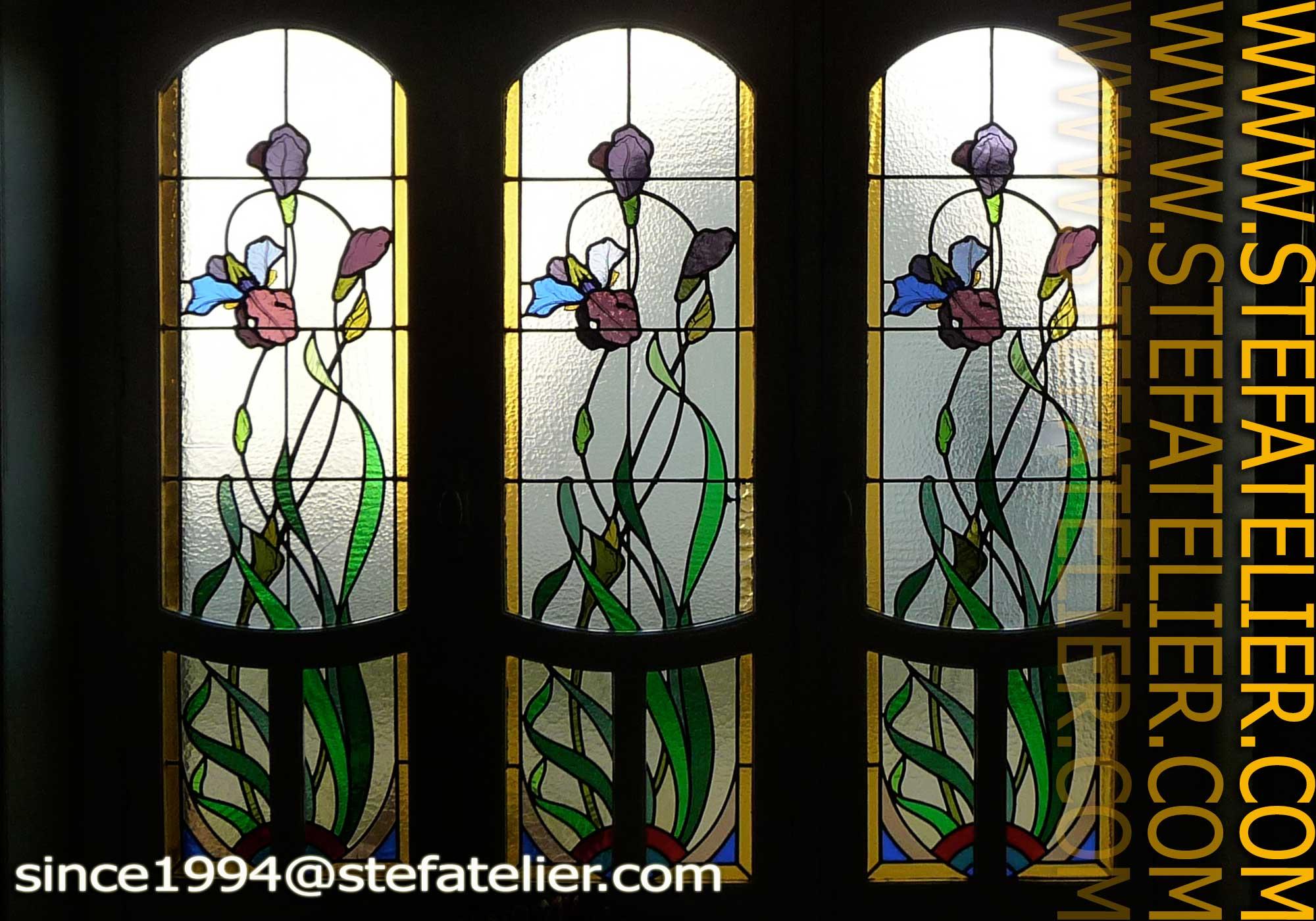Diaporama de restauration de vitraux