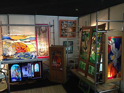 Stef atelier vitraux d art sur le salon habitat d co de for Salon de l habitat nancy