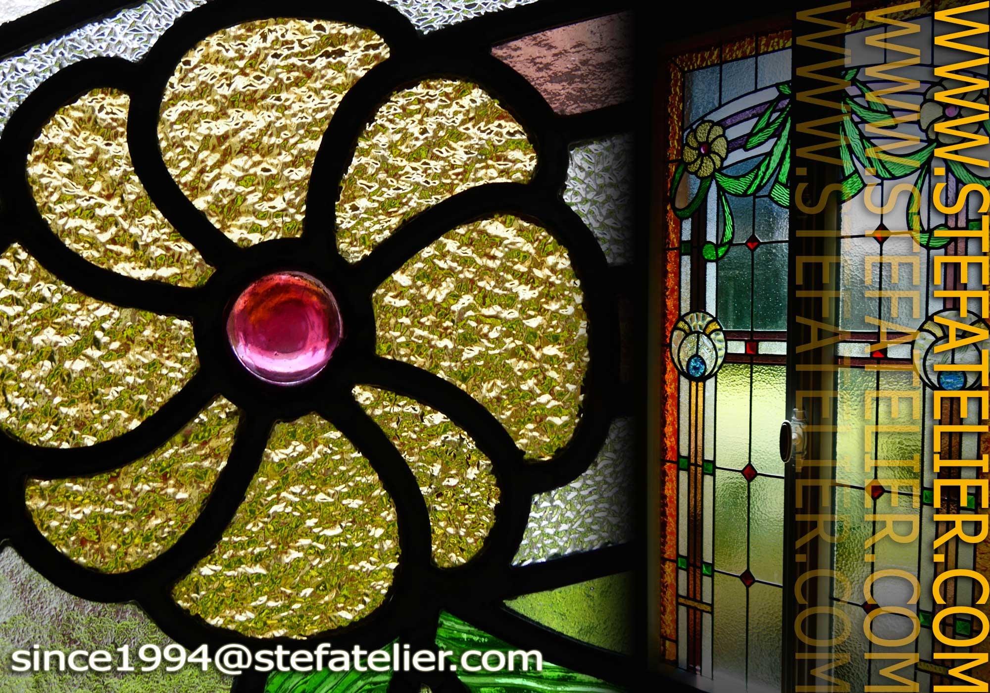 restauration de vitraux art d co thionville stef atelier vitraux d art. Black Bedroom Furniture Sets. Home Design Ideas