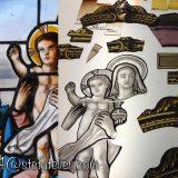 Restauration des pièces peintes