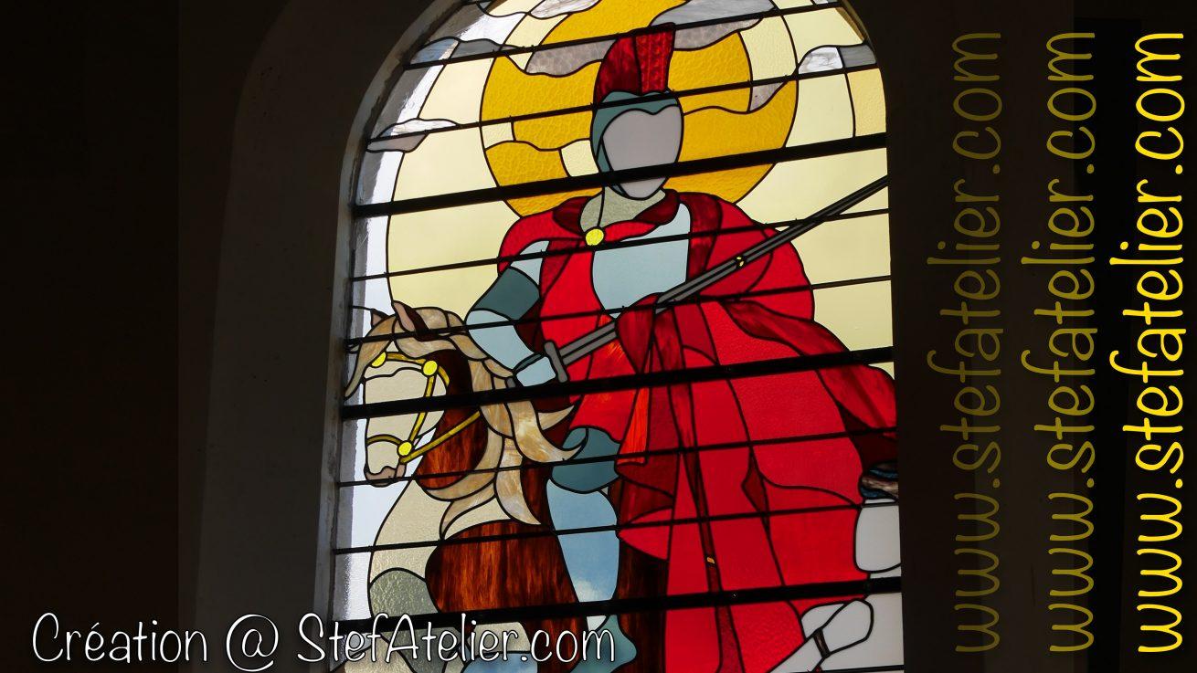 vitrail Saint Martin