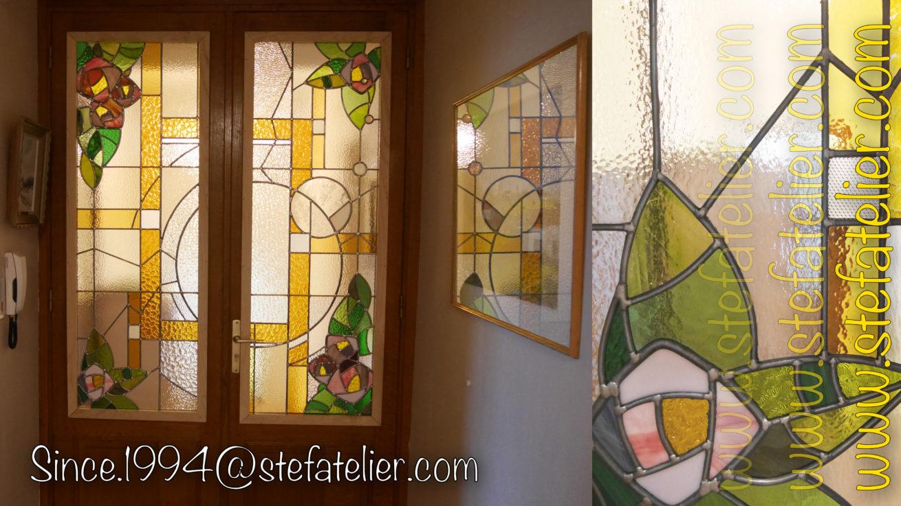 vitrail style art décoratif