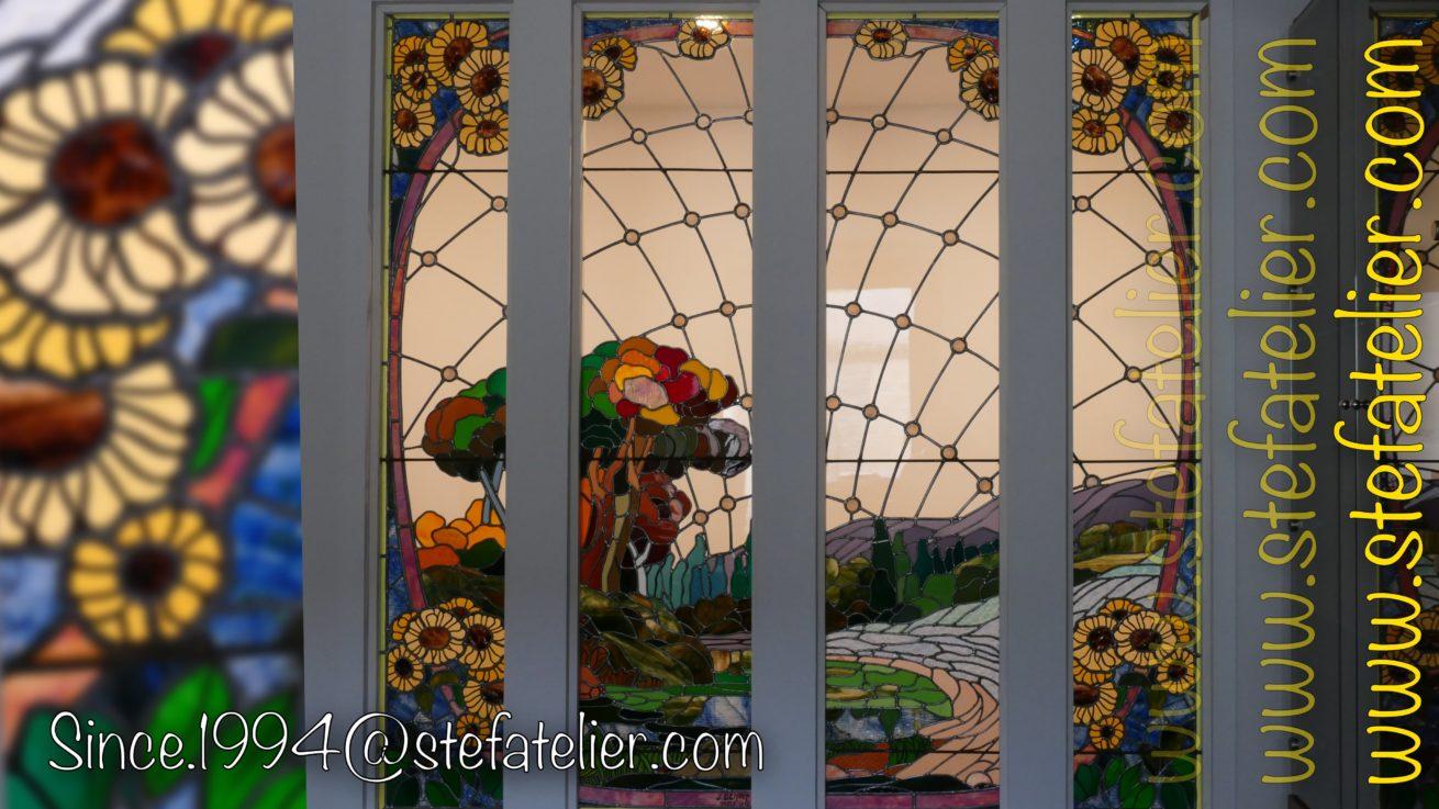 retauration-vitrail-ancien-paysage