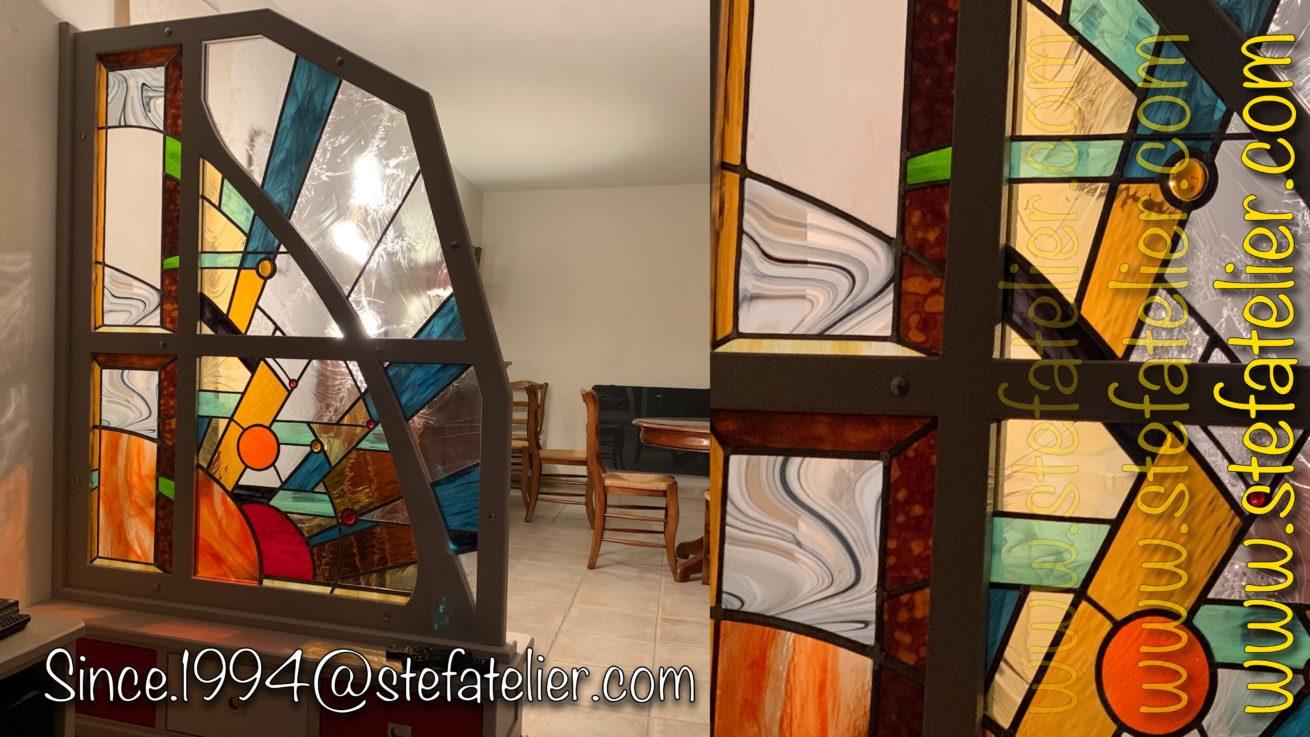 vitrail moderne
