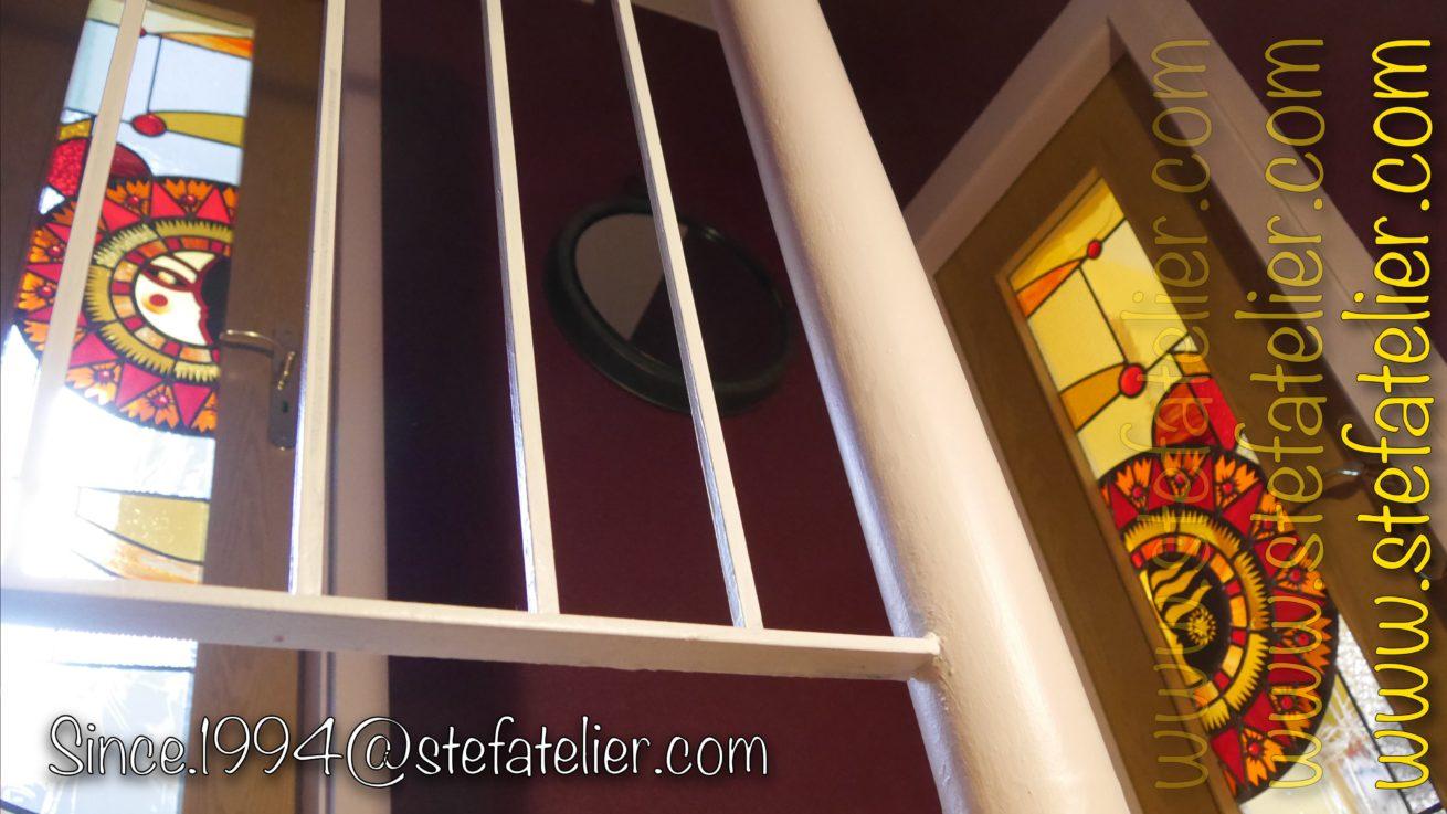 vitraux de portes