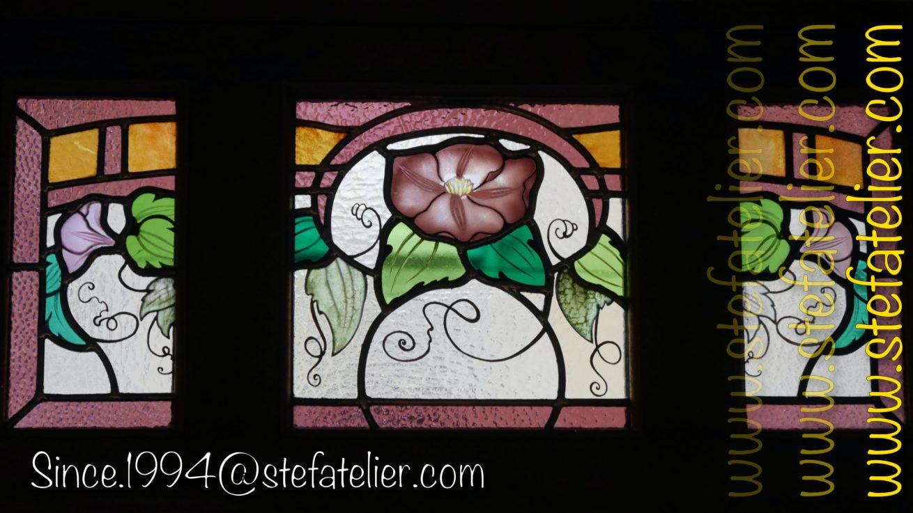 restauration-vitrail-fleur