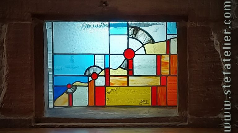 vitraux modernes